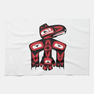 Raven Spirit Tea Towel