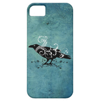 Raven & Swirls Teal Iphone 5 Case