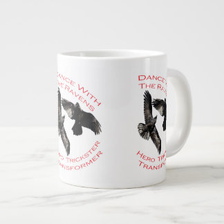 Raven the Transformer Jumbo Mugs