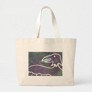 Raven Totem tote