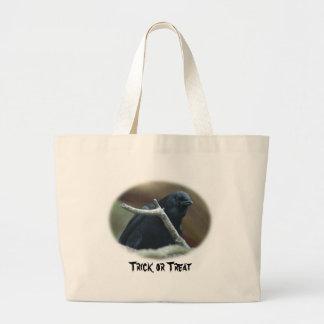 Raven Trick or Treat Bag