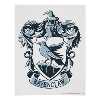 Ravenclaw Crest 3 Poster