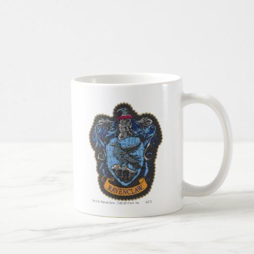 Ravenclaw Crest 4 Coffee Mugs