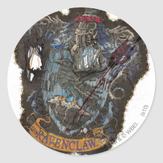 Ravenclaw Crest - Destroyed Sticker