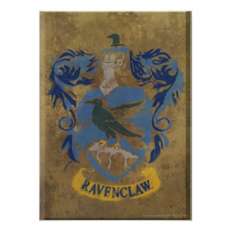 Ravenclaw Crest HPE6 Print