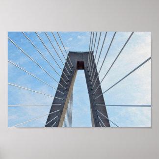 Ravenel Bridge, Charleston, South Carolina Poster
