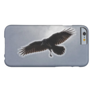 Raven's Descent Fractal Print Barely There iPhone 6 Case