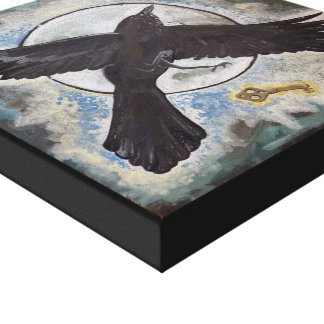 Raven's Gift Canvas Print