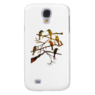 Ravens in the Mist Samsung Galaxy S4 Cases