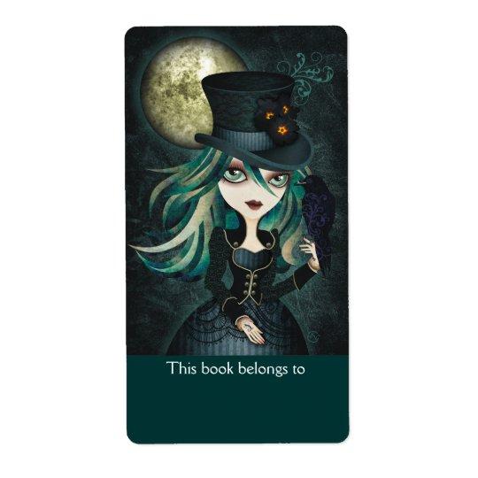 Raven's Moon Bookplates Labels