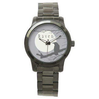 Raven's Moon Timepiece Watch