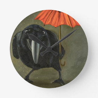 ravens rain 2 wallclocks