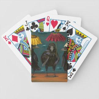 Ravens Rain Poker Deck