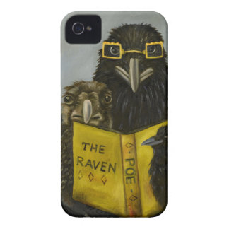 Ravens Read iPhone 4 Cases