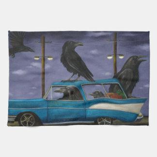 Ravens' Ride Kitchen Towel
