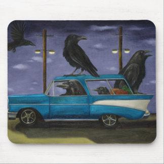 Ravens' Ride Mouse Pad