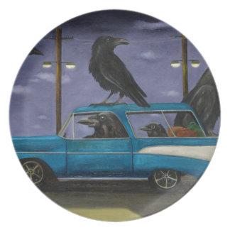 Ravens' Ride Plates