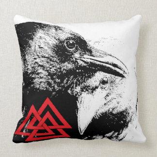 Ravens Valknut Pillow