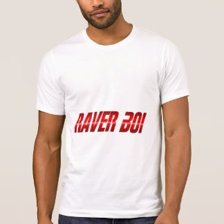 Raver Boi Red T-Shirt