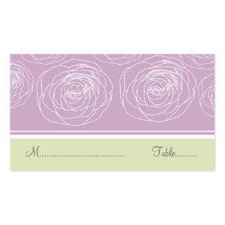 Ravishing Roses Elegant Place Card Business Card
