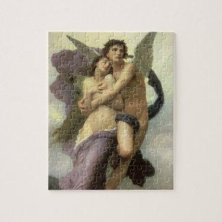 Ravishment by Bouguereau, Vintage Victorian Angels Jigsaw Puzzle