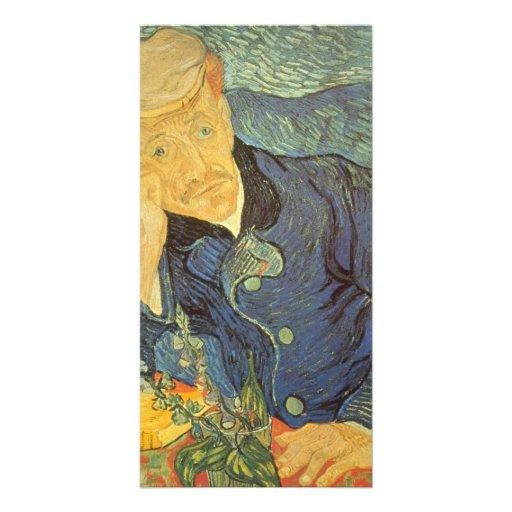 Ravoux by Vincent van Gogh Personalized Photo Card