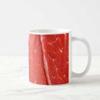 Raw Beef Steak Meat Mug / Cup