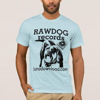 RAW DOG Record DJ Scratch shirt