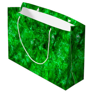 Raw Emerald Large Gift Bag