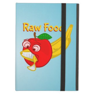 Raw Foods Food Fight Apple Verses Banana Cover For iPad Air