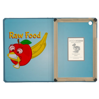 Raw Foods Food Fight Apple Verses Banana iPad Mini Retina Cases
