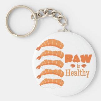 Raw Healthy Key Ring