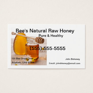Raw Honey Business Card