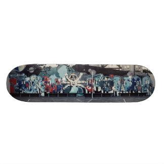 Raw Power Skate Board Deck