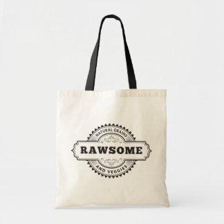 Raw Vegan Vegetarian Rawsome Budget Tote Bag