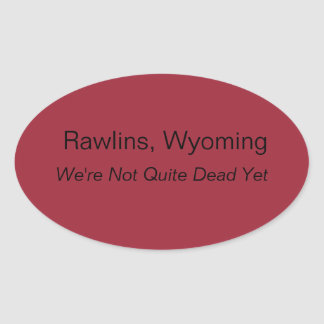 Rawlins, Wyoming Sticker