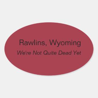 Rawlins, Wyoming Sticker