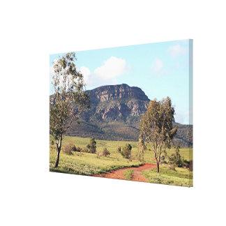 Rawnsley Bluff, Flinders Ranges, Australia Canvas Print