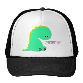 RAWR dinosaur cute shirt Cap