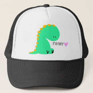 RAWR dinosaur cute shirt Trucker Hat