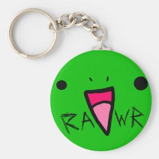 rawr dinosaur key ring