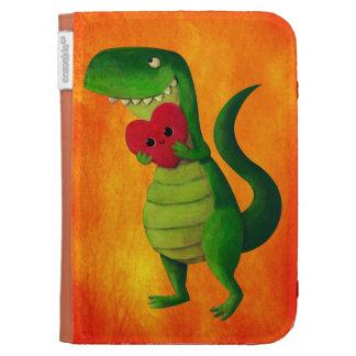 RAWR Dinosaur Love Kindle Cases