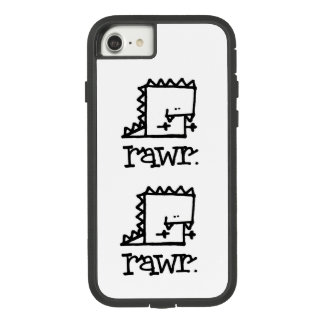 Rawr Dinosaur Meepple Apple iPhone 7 Phone Case