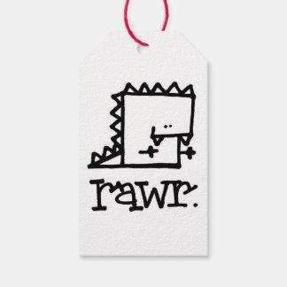 Rawr Dinosaur Meepple Gift Tags