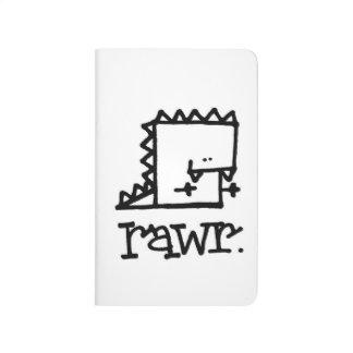 Rawr Dinosaur Meepple Pocket Journal
