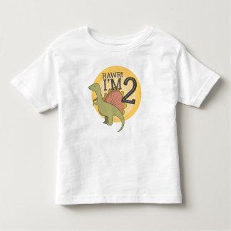 Rawr I'm 2 Dinosaur 2 Year Old Toddler Shirt
