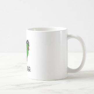 RAWR is Dinosaur for ARRR (Pirate Dinosaur) Coffee Mug