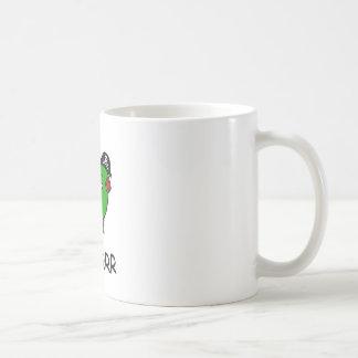 RAWR is Dinosaur for ARRR (Pirate Dinosaur) Coffee Mugs