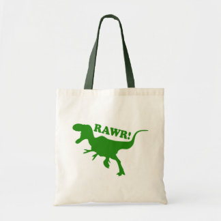 RAWR is how Dinosaurs say I love you Tote Bag