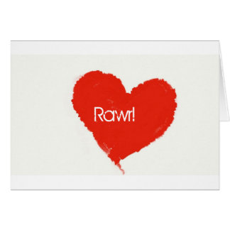 Rawr! means ily in dinosaur card